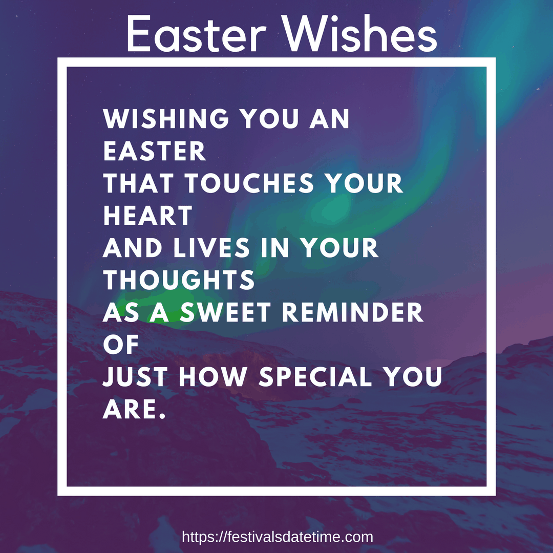 Easter Wishes Easter 2018 Wishes Messages Festivals Datetime